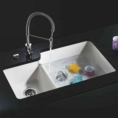 Schock Solido Cristalite 1.75 Bowl Granite Composite Undermount Sink & Waste - 838 x 527mm