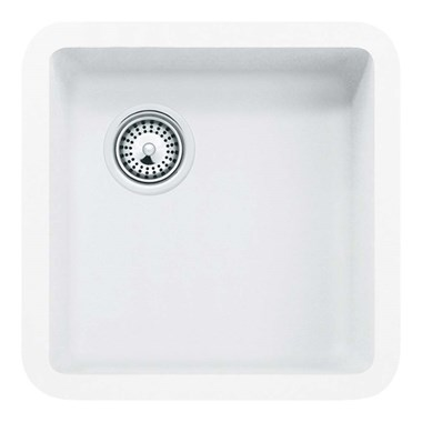 Schock Solido Cristalite 378mm Single Bowl Undermount Sink - Alpina