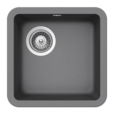 Schock Solido Cristalite 378mm Single Bowl Undermount Sink with Waste - Croma