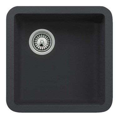 Schock Solido Cristalite 378mm Single Bowl Undermount Sink - Onyx