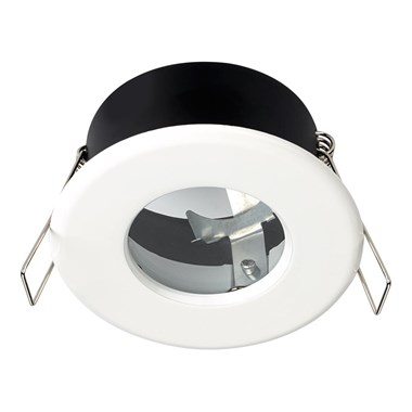 Sensio GU10 LED Shower Light Fitting - White