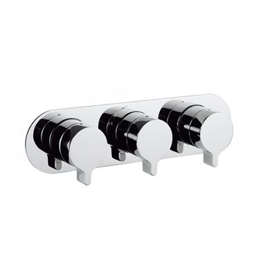 Crosswater Svelte Thermostatic Shower Valve - 3 Way Diverter Land