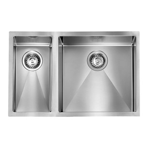 Crosswater Cucina Svelte Stainless Steel 1.5 Bowl Undertop Sink & Waste Kit