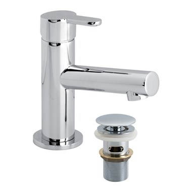 Vado Sense Mini Basin Mono Mixer with Clic-Clac Waste
