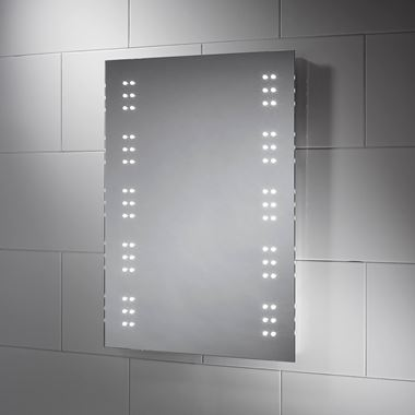 Sensio Ava Battery Powered LED Bathroom Mirror - 700 x 500mm