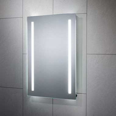 Sensio Gina Battery Powered LED Bathroom Mirror - 700 x 500mm