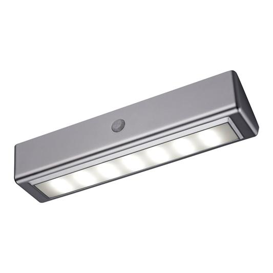 Cool White Led Bathroom Light, Bathroom Battery Light