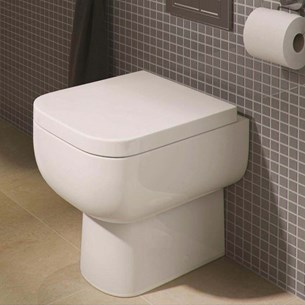 RAK Series 600 Back to Wall Toilet WC & Soft Close Seat