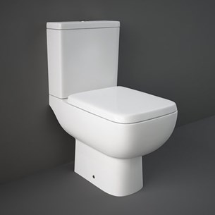 RAK Series 600 Close Coupled Toilet WC & Soft Close Seat