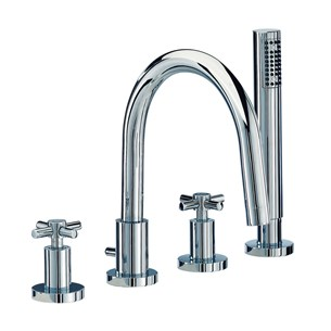 Mayfair Series C 4 Hole Bath Shower Mixer Set