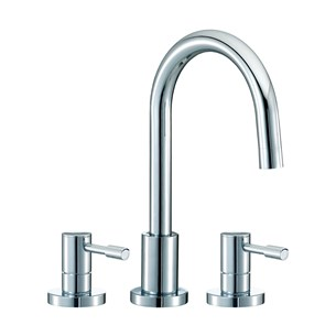 Mayfair Series F 3 Hole Basin Mixer Set with Pop-Up Waste
