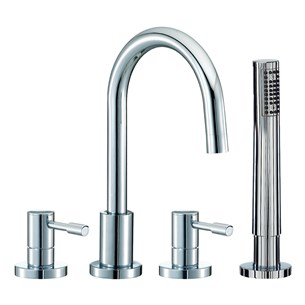 Mayfair Series F 4 Hole Bath Shower Mixer Set