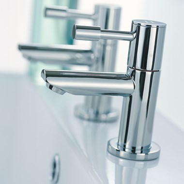 Mayfair Series F Basin Pillar Taps (Pair)