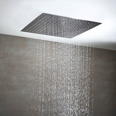 Phoenix Niagra Luxury Dual Function Ceiling Mounted Shower Head - 500 x 500mm
