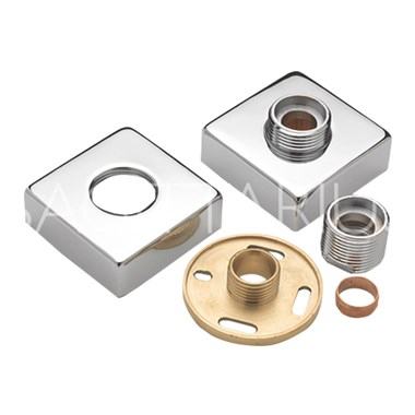 Sagittarius Pr Square Easy Fit Bar Valve Wall Plates