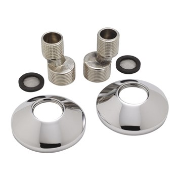 Sagittarius Eccentric Fittings and Cover Plates to suit Exposed Shower Valves