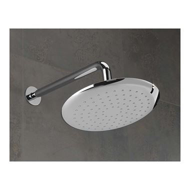 Sagittarius Turin Abs Shower Head With Wall Arm