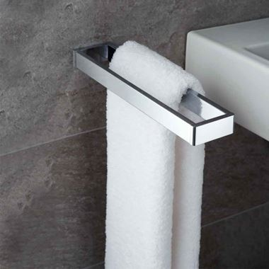 Vado Shama Wall Mounted Double Towel Rail 350mm