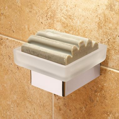 Vado Shama Wall Mounted Soap Dish & Holder