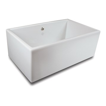 Shaws Classic Shaker 800 White Ceramic Sink