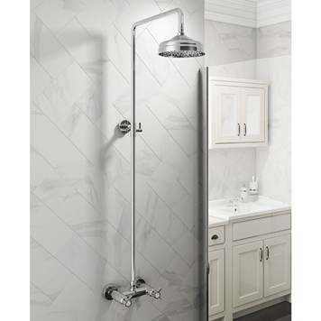 Butler & Rose Elizabeth Thermostatic Rigid Riser Shower Mixer Set