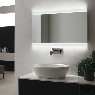 Bathroom Origins Skyline Backlit LED Mirror