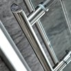 Harbour i8 Easy Clean 8mm Hinged Shower Door 800mm & Side Panel 800mm