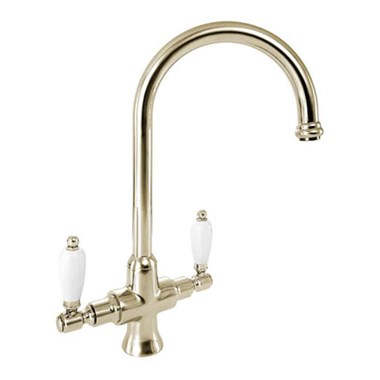 Deva Georgian Mono Sink Mixer - Gold
