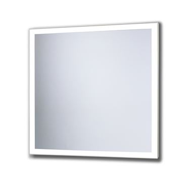 Bathroom Origins Solid Framed Backlit LED Mirror - 700 x 700mm