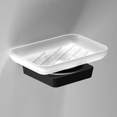 Sonia S6 Black Soap Dish