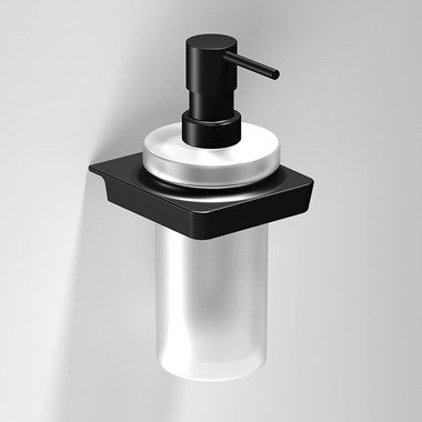 Sonia S6 Black Soap Dispenser
