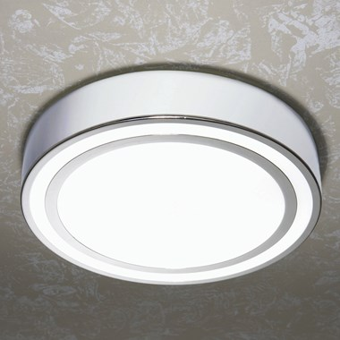 HIB Spice Halogen Lit Chrome Circular Light with Additional Chrome Detail