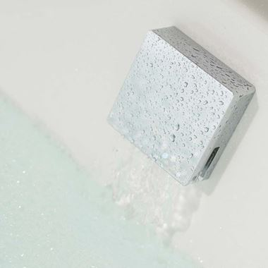 Tre Mercati Square Automatic Bath Filler with Clicker Waste