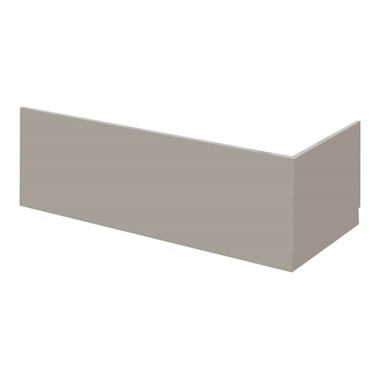 Drench Emily 800mm Bath Front Panel - Stone Grey