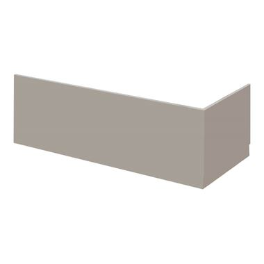Drench Emily 1800mm Bath Front Panel - Stone Grey