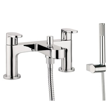 Proflow Track Bath Shower Mixer Tap