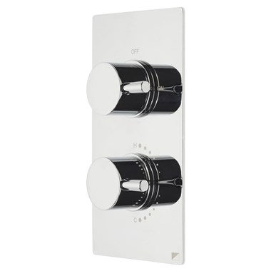 Roper Rhodes Event Round Concealed Single Function Thermostatic Shower Valve