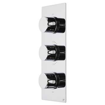 Roper Rhodes Event Round Concealed Three Function Diverter Thermostatic Shower Valve