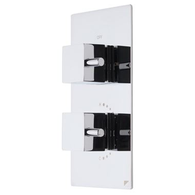 Roper Rhodes Event Square Concealed Single Function Thermostatic Shower Valve