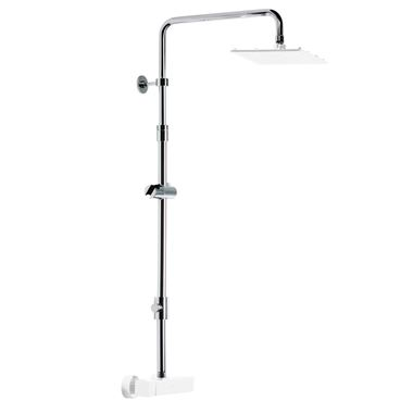 Roper Rhodes Rigid Riser Rail with Diverter (Height Adjustable)
