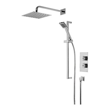 Roper Rhodes Event Square Thermostatic Dual Function Concealed Shower System