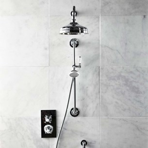 Roper Rhodes Henley Thermostatic Dual Function Concealed Shower System