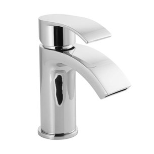 Vellamo Swift Mono Basin Mixer With Clicker Waste