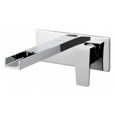 Vado Synergie 2 Hole Wall Mounted Single Lever Basin Mixer