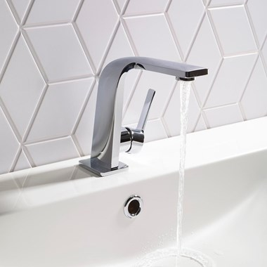 Roper Rhodes Poise Mono Basin Mixer with Clicker Waste