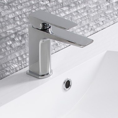 Roper Rhodes Elate Mono Basin Mixer with Clicker Waste