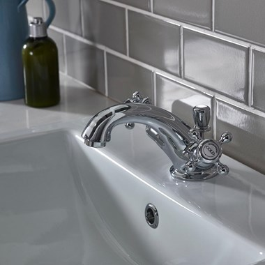Roper Rhodes Henley Mono Basin Mixer with Pop-Up Waste