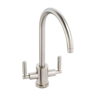 Abode Atlas Aquifier Filtered Water Mono Kitchen Mixer - Brushed Nickel