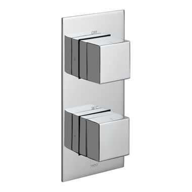 Vado Tablet Notion Horizontal Concealed 1 Outlet Thermostatic Shower Valve
