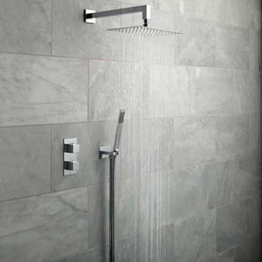 Vado Tablet Notion Vertical Concealed Thermostatic Shower Valve Package 21